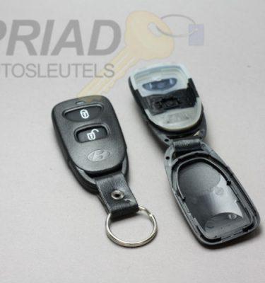 Hyundai 2-knops behuizing voor afstandsbediening van verschillende modellen Tucson, Elantra.